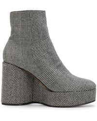 Clergerie - Belent Wedge Boots - Lyst