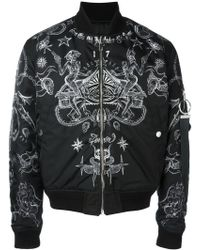 Givenchy - Printed Bomber Jacket - Lyst