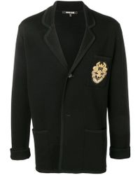 Roberto Cavalli - Embroidered Logo Jacket - Lyst