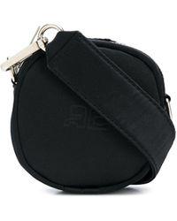 Courreges Logo Embossed Bag - Black