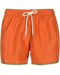 NOS Beachwear トランクス水着 - オレンジ