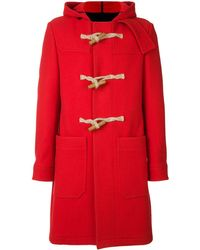 AMI Duffle coat - Rouge