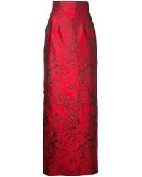 Bambah - Rose Jacquard Pencil Skirt - Lyst