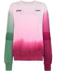 Ambush グラデーションセーター - ピンク
