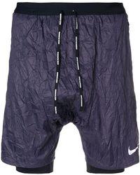 Nike - Dropped Crotch Shorts - Lyst