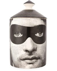 Fornasetti Don Giovanni Scented Candle (300g) - Black