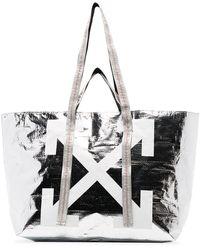 Off-White c/o Virgil Abloh - Arrow Logo Tote - Lyst