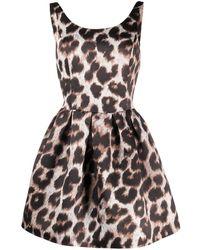 Philipp Plein Wrg0924pte043n 17 Leopard Natural (other)->silk - マルチカラー