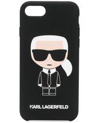 Karl Lagerfeld - Karl Ikonik Iphone 8 ケース - Lyst