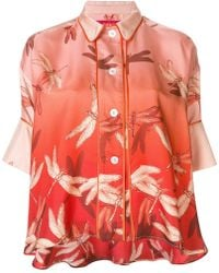 F.R.S For Restless Sleepers - Dragonfly Print Blouse - Lyst