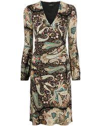 Etro Платье Миди С Принтом Пейсли - Многоцветный