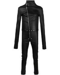 Rick Owens スリムフィット ジャンプスーツ - ブラック
