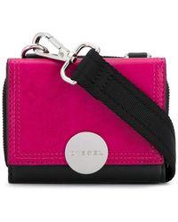DIESEL Colour-block Crossbody Bag - Black