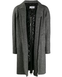 Maison Margiela 3 Button Coat - Gray