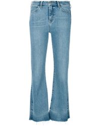 M.i.h Jeans Lou Flared Jeans - Blue