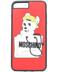 Moschino Pudge Iphone 7s Case - Red