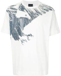 Emporio Armani - Eagle Tシャツ - Lyst