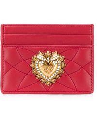 Dolce & Gabbana - Sacred Heart カードケース - Lyst