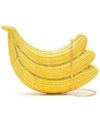 Serpui Bolso de mano Banana Bunch - Amarillo