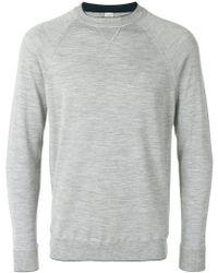 Eleventy | Crew Neck Sweatshirt | Lyst