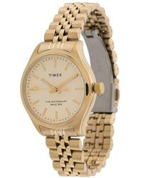 Timex Waterbury 34mm Watch - Metallic