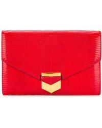 Hermès Bolso de mano estilo sobre - Rojo