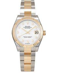 Rolex Orologio Datejust 28mm 2020 mai indossato - Bianco