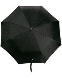 Alexander McQueen Crystal Studded Skull Umbrella - Black