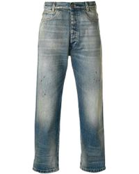 Gucci - Stonewashed Jeans - Lyst