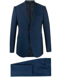 Emporio Armani - ツーピース スーツ - Lyst