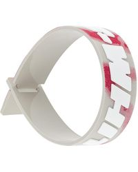 Off-White c/o Virgil Abloh Smalle Armband - Wit