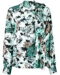 Pinko Blusa a fiori - Verde
