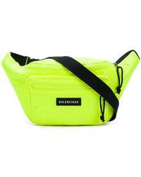 Balenciaga Explorer Belt Pack - Yellow