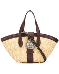 KATE CATE P3 Straw Tote Bag - Multicolor