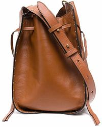 Isabel Marant Taj バケットバッグ - ブラウン