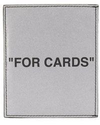 Off-White c/o Virgil Abloh - カードケース - Lyst