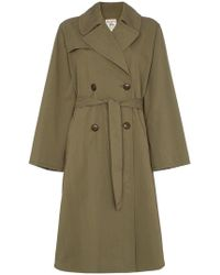 Nili Lotan - Belted Trench Coat - Lyst