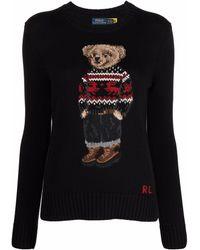 Polo Ralph Lauren Polo Bear セーター - ブラック