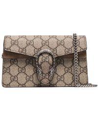 Gucci Мини-сумка Dionysus С Узором GG Supreme - Многоцветный