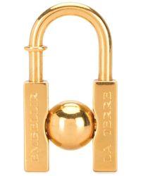 Hermès Lucchetto 2001 Pre-owned Earth Cadena - Metallizzato