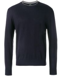 PS by Paul Smith - Crew Neck Sweater - Lyst