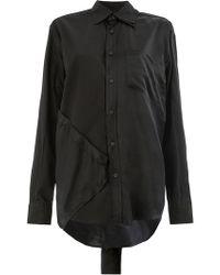 Moohong - Paneled Shirt - Lyst