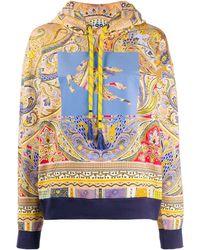 Etro Felpa con stampa paisley - Multicolore