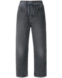 Levi's - Cropped-Jeans mit weitem Bein - Lyst