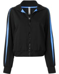 NO KA 'OI Zip Sport Jacket - Black