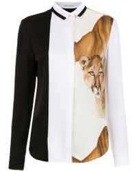 Gloria Coelho - Lion Shirt - Lyst