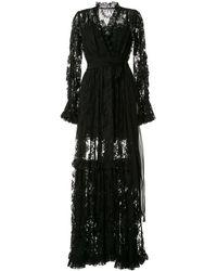 Dolce & Gabbana - フローラルレース ドレス - Lyst