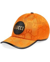 Gucci Off The Grid ベースボール キャップ - オレンジ