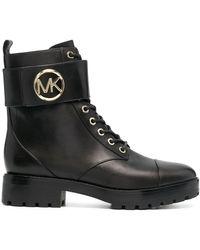 MICHAEL Michael Kors Ботинки Tatum В Стиле Милитари - Черный