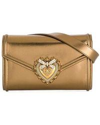 Dolce & Gabbana - Поясная Сумка Devotion - Lyst